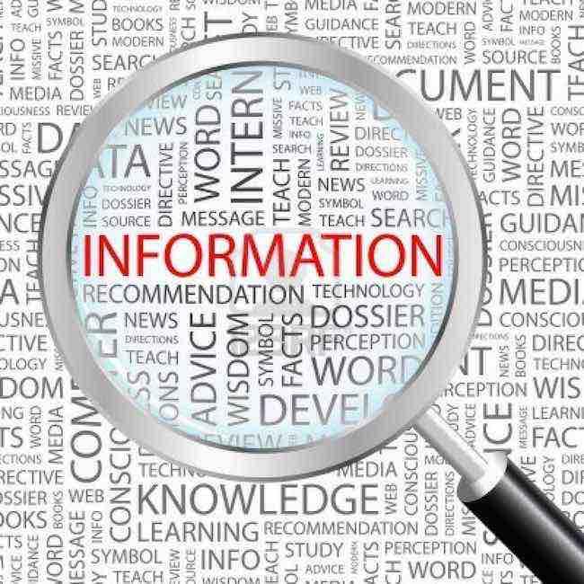 Servizi di informazione