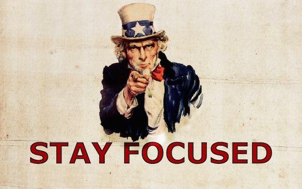 Concentrati sull'obiettivo