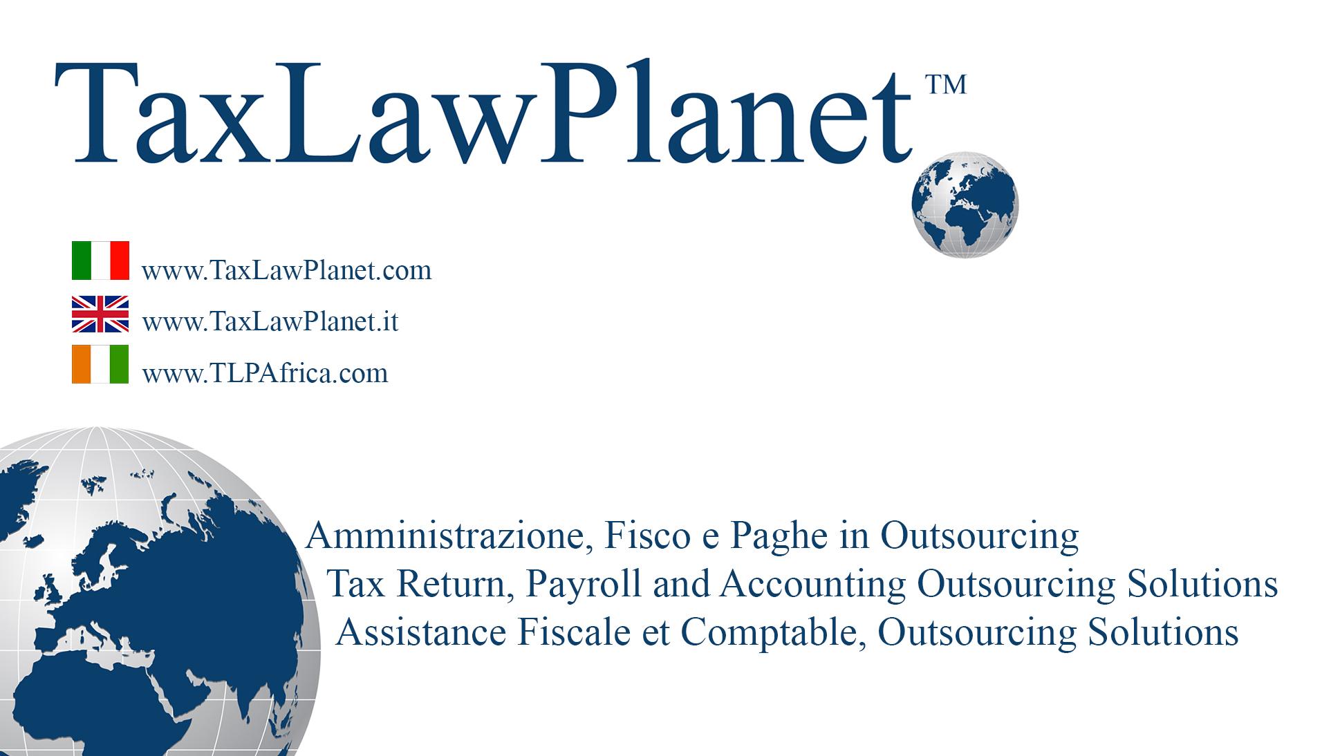 Taxlawplanet Srl
